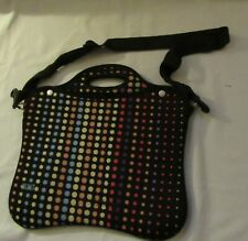 NICE Built NY Neoprene Polka Dot Tote, Shopper, Travel, Overnight, Carryall, Gym