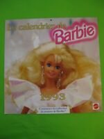 Calendrier 1993 - Barbie - 30 x 30 - 16 pages