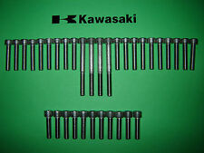 Kawasaki Z200 200cc Engine Cover SS Stainless Allen Screw Kit *UK FREEPOST*