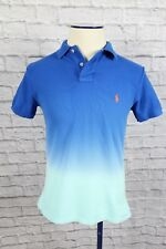 Men's Ralph Lauren Polo, blue to white