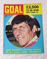 GOAL FOOTBALL MAGAZINE NO.137 MARCH 20TH 1971 - JOHN RITCHIE
