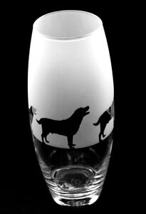 Labrador dog gift Vase