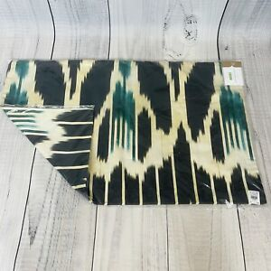 """Pottery Barn Edna Pillow Cover 16 x 26"""" Blue Multi Ikat Brand New! SOLD OUT!"""