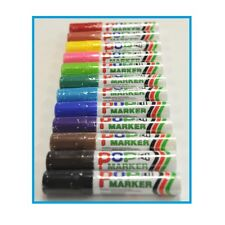 High Quality Permanent Poster Marker EX Bold Tips (6mm) 6 Colour Pack