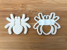 Halloween Uk Seller Plastic Biscuit Cookie Cutter Fondant Cake Decor Spider