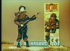 Classic Toy Commercials Of The 1960's DVD GI Joe Whirlybirds Barbie And Ken