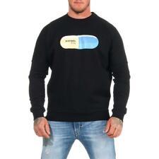 DIESEL S-Kalb-Qa Sweatshirt Herren Pullover Sweater Pulli