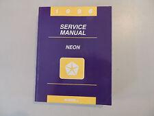 Shop Service manual Werkstatthandbuch Dodge Plymouth Neon Modelljahr 1996