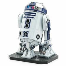 Metal Earth 3D ICONX Laser Cut DIY Model KIT R2-D2 Droid Premium Star Wars