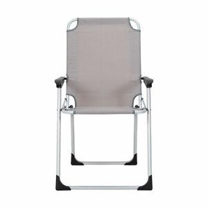 New 2021 Reclining Garden Chair Aluminium Pink Outdoor Patio Camp Furniture