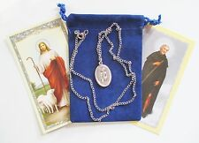 St. Peregrine Saint Medal with 24 Inch Necklace