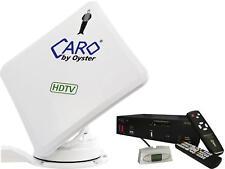 Caro Serie Digital Sat-Anlage mit Receiver autom. Ausrichtung kompakt 50x50cm