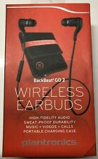 Plantronics BackBeat Go 2 Wireless Bluetooth Earbuds with Charging Case