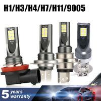 H1 H3 H4 H7 H11 9005 9006 160W 20000LM LED Headlight Bulb Fog Light 6000K Canbus