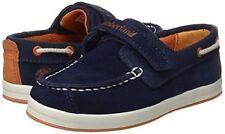 Timberland Schuhe Kinder A1584 Gr.29 DOVER BAY Blue Hook & Loop Ox Mokassins