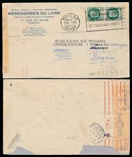 Slogan Cancel Used Cover European Stamps