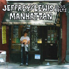 JEFFREY LEWIS & LOS BOLTS Manhattan 2015 UK 11-track vinyl LP + MP3 NEW/SEALED