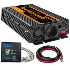 1000W 2000W 12V 220V onda sinusoidale pura potenza inverter 2 Porte USB inverter