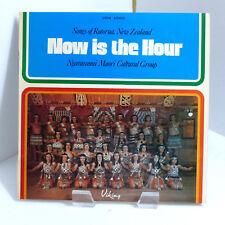 1973 Ngararanui Maori Cultural Group Now Is The Hour Viking VP378 Mint Stereo LP