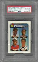 1992 Topps Gold Baseball Winners Cello Pack Chipper Jones Rookie RC TOP PSA 10