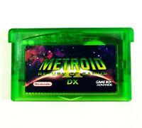 Metroid II 2 DX: Return of Samus (Full Color) GBA Game Boy Advance custom cart