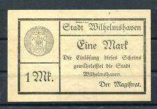 Wilhelmshaven 1 Mark Notgeld 1919 ........................................z/1195