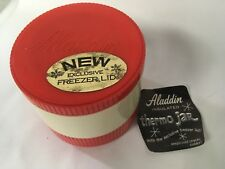Vintage Retro Aladdin Insulated Thermo Jar Freezer Lid Snacks Cold