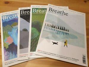 Breathe magazine bundle - issues 7,8,9,10