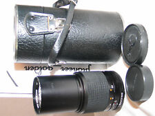 MINOLTA MC celtic 200mm f4 telephoto LENS for Minolta 35mm SLR camera
