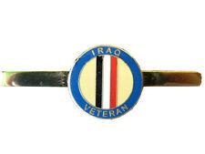 Iraq War Veteran Military Tie Clip