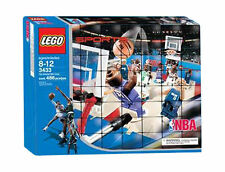 LEGO 3433 NBA SPORTS BASKETBALLARENA MIT SPIELFIGUREN NEU