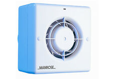 Manrose CF100T Toilet/Bathroom Quiet Extract Fan with Timer