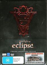 THE TWILIGHT SAGA-Eclipse-3 DVD Collectors Set-R4-BRAND NEW-Still Sealed