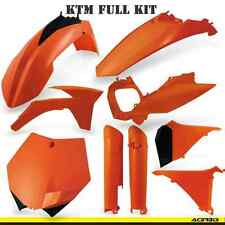Acerbis Orange Full Plastics Kit KTM SXF 2011-2012 SX250F SX450F SXF250 SXF450