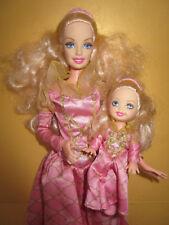B904) bionda Principessa Barbie + bionda Principessa SHELLY MATTEL 1998 molto bene