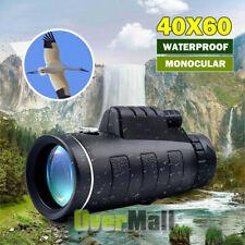 40X60 Day&Night Vision Dual-Focus Hd Optics Zoom Monocular Telescope Waterproof