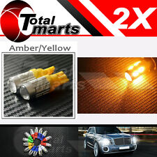 2x T10 158 194 168 W5W 5730 10 smd led Car Light Bulb Lamp super Amber / Yellow