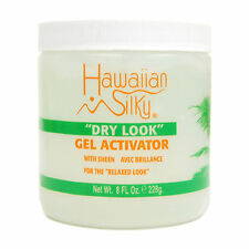 Hawaiian Silky Dry Look Gel Activator with Sheen for the Relaxed Look 8oz