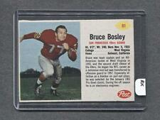 1962 Post #91 Bruce Bosley (49ers) (RK)  Ex-Mt  (Flat Rate Ship)