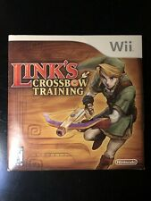 Link's Crossbow Training (Nintento Wii) Complete w/ Manual