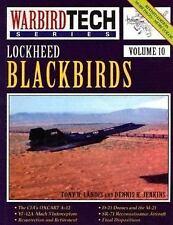 Lockheed Blackbirds - Warbird Tech Vol. 10-ExLibrary