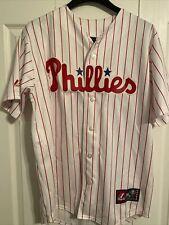 Philadelphia Phillies #26 Chase Utley Stitched Jersey Majestic Size Medium
