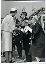 Belgique, la reine Fabiola  Vintage silver print Tirage argentique  18x24