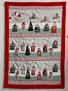 Pottery Barn Kids CLASSIC Christmas ICON countdown advent holiday calendar NEW