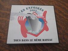 album 2 cd les enfoires 2002 tous dans le meme bateau