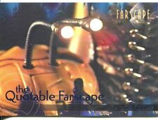 Farscape Season 3 The Quotable Farscape Chase Card Q31