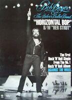 BOB SEGER 1980 POSTER ADVERT HORIZONTAL BOP AGAINST THE WIND