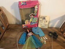 Rare! 1977 Mattel Fashion Photo P.J. Play Camera, Pics, Stand, Etc.