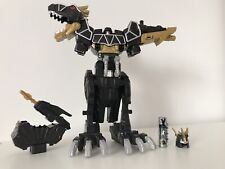 Power Rangers Dino Super Charge Black Megazord T-Rex + Black Charger #1