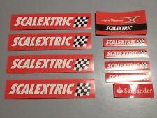 SCX SCALEXTRIC DIGITAL SYSTEM / WOS / ANALOGIC / ADVANCE PEGATINAS STICKERS 02